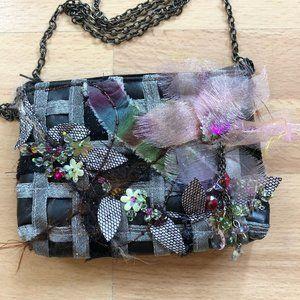 Mary Frances Small Embellished Purse